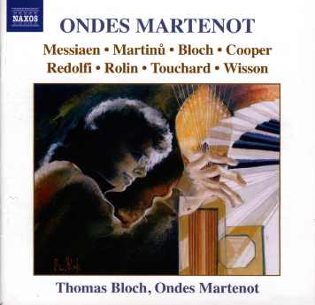 CD ondes Martenot Thomas Bloch Naxos