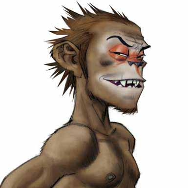 monkey journey to the west - gorillaz - Damon Albarn - Thomas Bloch